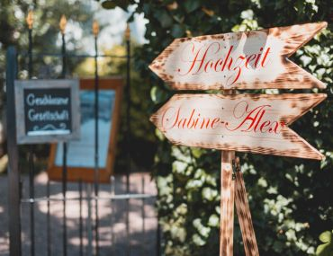 Hochzeit in der Pfalz - Sabine & Alex