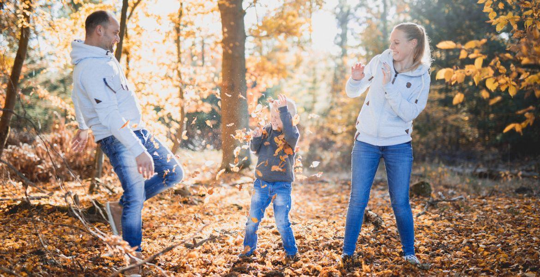 Herbstshooting im Wald